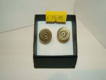 Brass Bullet Cufflinks | Tackle and Guns Glasgow